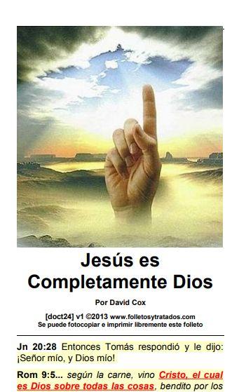 doct24 Jesus es completamente Dios